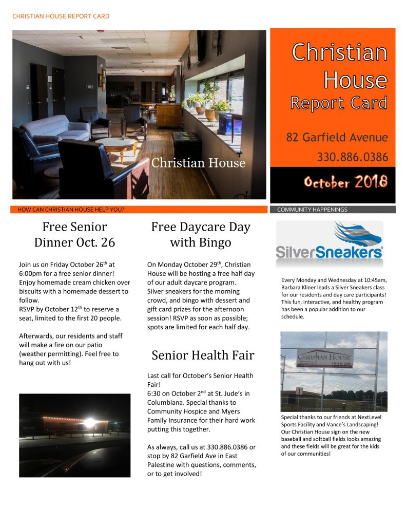 October Report Card